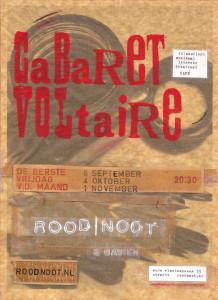 A2poster Cabaret Voltaire najaar 2013